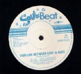 B.B. Seaton - Thin Line Between Love & Hate / Phil Francis - Laugh It Off (Soul Beat) UK 12""